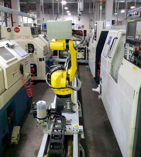 机器人自动上下料生产线010A