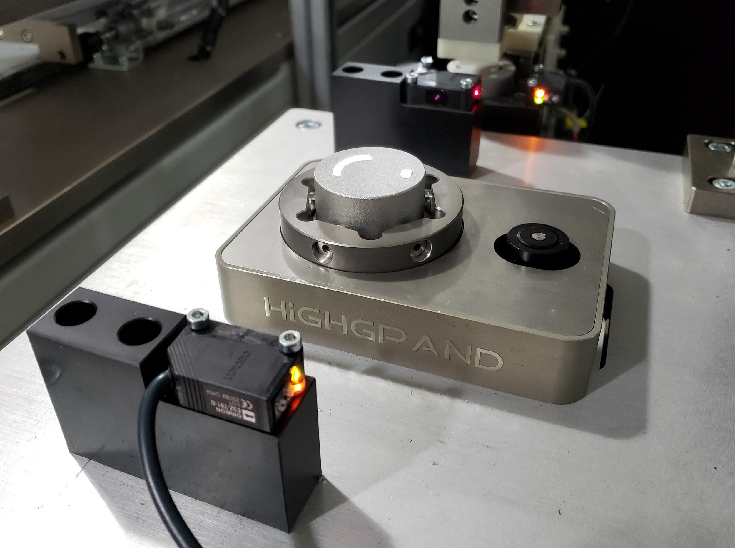 配流盘CCD上料检测纠偏台521D
